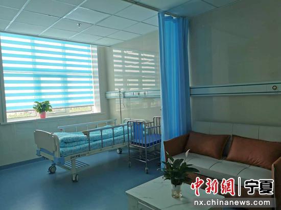 阅海分院内的病房。谢建雯 摄
