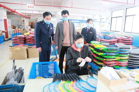 东阳34个联企服务团、13支驻企先锋队深入企业解难题  东阳宣传部提供