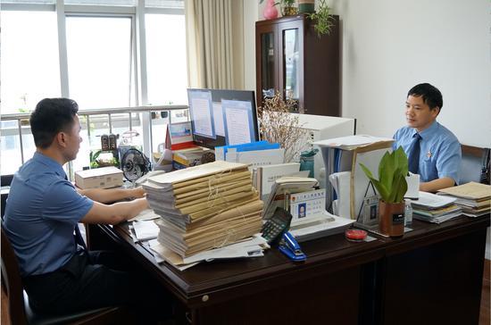 三门县检察机关工作场景  三门检察供图