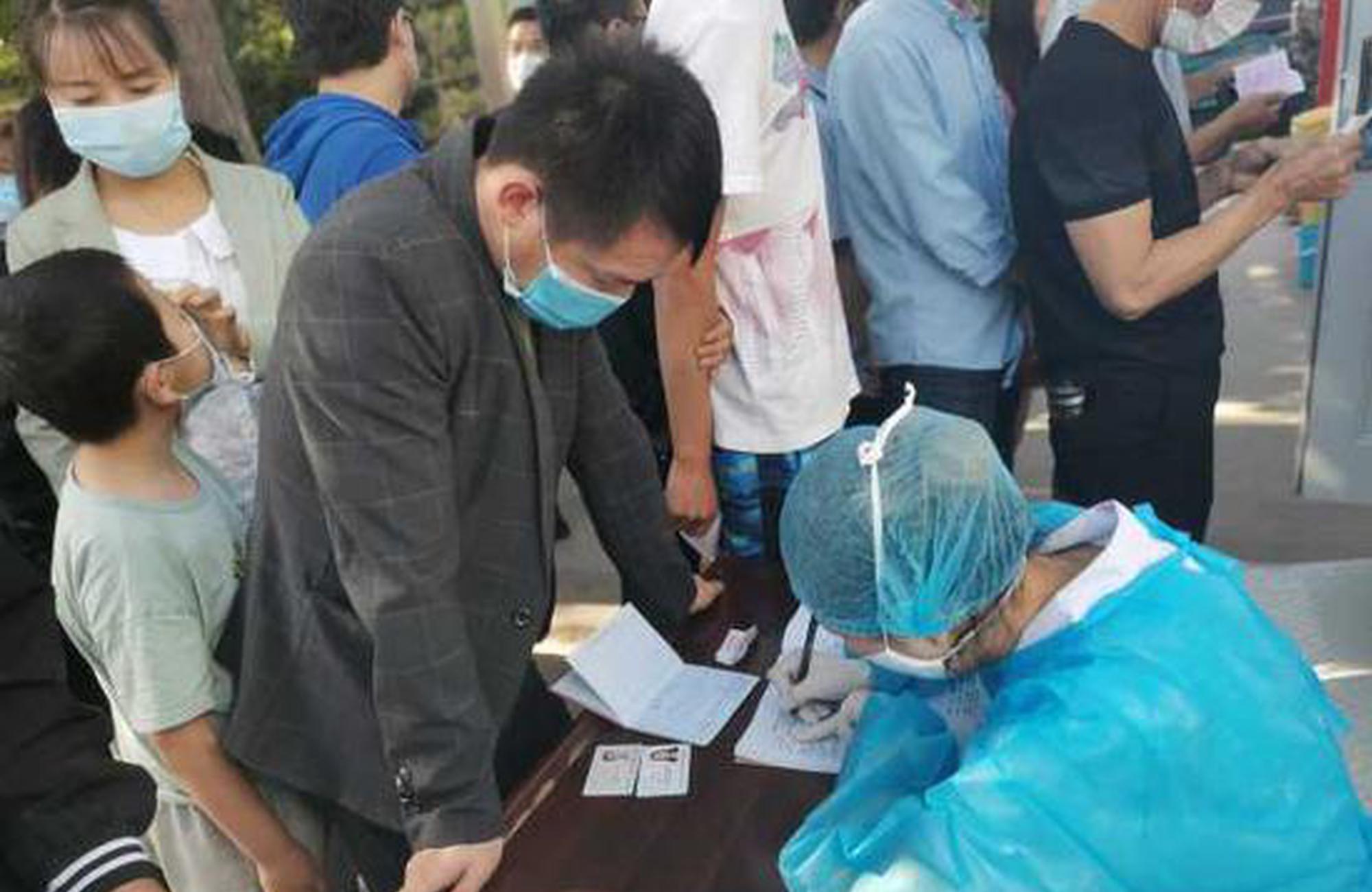 宁夏第四医院5月份核酸检测4700多群众 检测采集流程看这里!