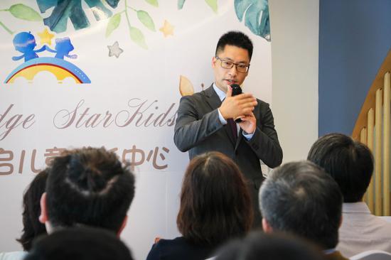 康谱睿启项目负责人杨锦陈博士发言。 主办方 供图