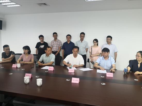 安吉盈元家庭农场取得农村集体经营性建设用地使用权  杨楠 摄