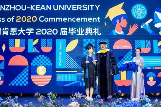 中國工程院院士現溫肯 寄語畢業生以后浪之
