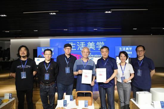 """第三届中华设计奖""""生活美学""""设计大赛复评。  主办方 供图"""