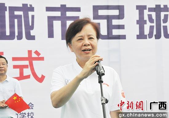 北海市政府副秘書長陳建群出席活動。李俊 攝