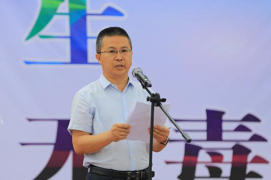 博湖县委常委、政法委书记张勋参加活动并讲话。