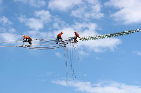 电网建设 张圆 供图