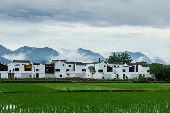 第五届浙江生态音乐节举办地杭州富阳。李潇鹏供图