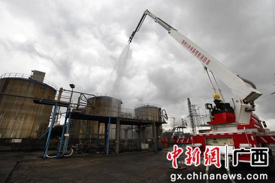 资料图。柳州市消防救援支队供图