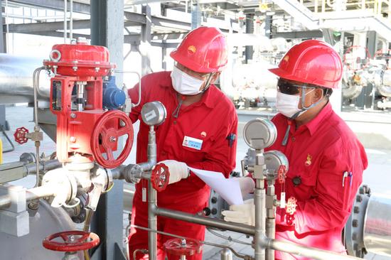 新疆油田采气一厂圆满完成2020年上半年天然气生产任务
