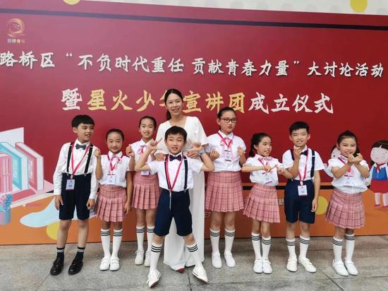 """浙江路桥成立少年宣讲团 传递""""好声音""""当"""