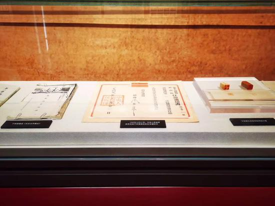 中共杭州小组纪念馆新馆馆藏。 上城区委组织部 供图