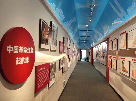 中共杭州小组纪念馆新馆。 上城区委组织部 供图