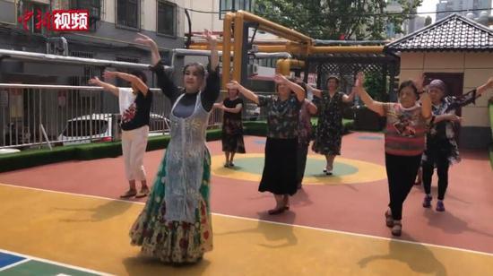 維吾爾族姑娘帕麗在他鄉的幸福生活