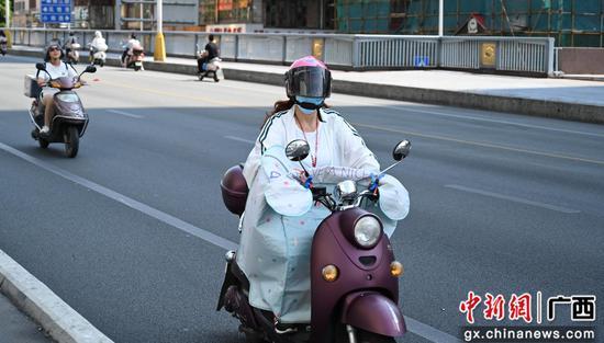 大暑來臨 廣西柳州熱浪來襲