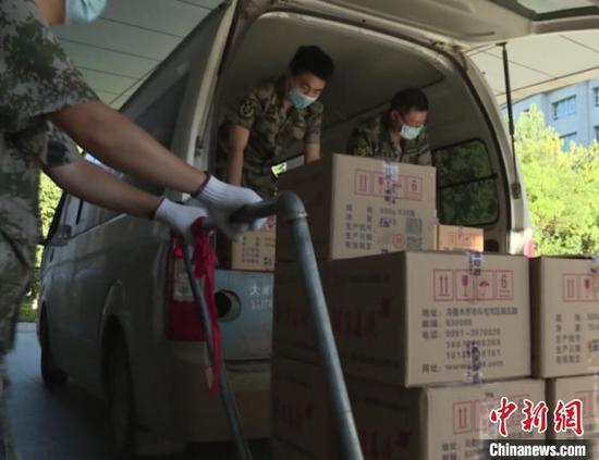 新疆兵团防疫物资保障有力 配足1个月用量