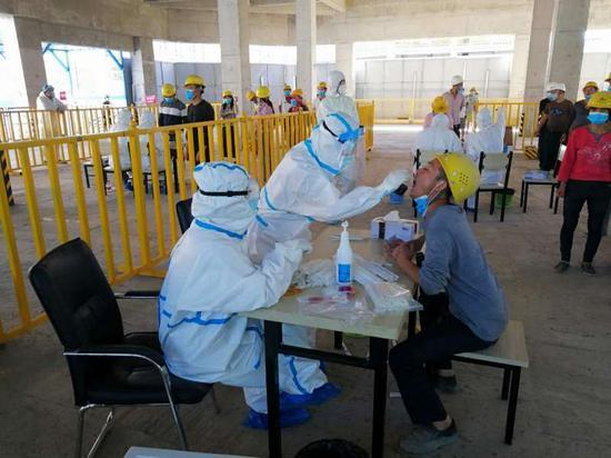 烏魯木齊將對兩個高風險地區進行二次核酸檢測