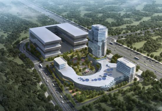 大唐5G全球创新中心中国长三角区域中心项目效果图。温州发布 供图