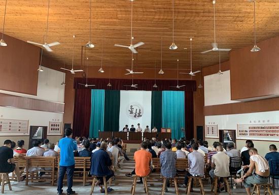 村社组织换届纪律专题讲座 永康统战部提供