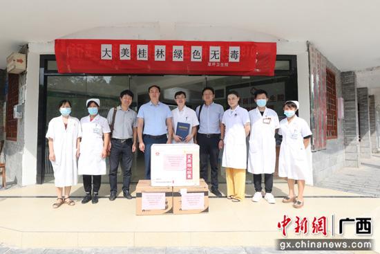 广西壮族自治区南溪山医院赴医联体单位开展送药活动
