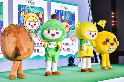 """全新IP形象——""""黄海森林小精灵"""" 主办方供图"""
