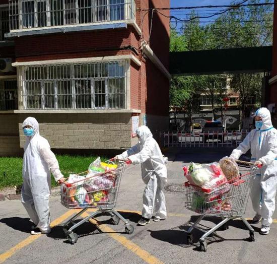 烏魯木齊農貿市場正常經營 加強管控舉措