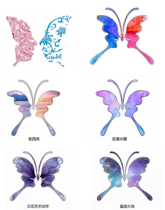 由冷亚慧创作的获奖作品《蝴蝶梦》  主办方 供图