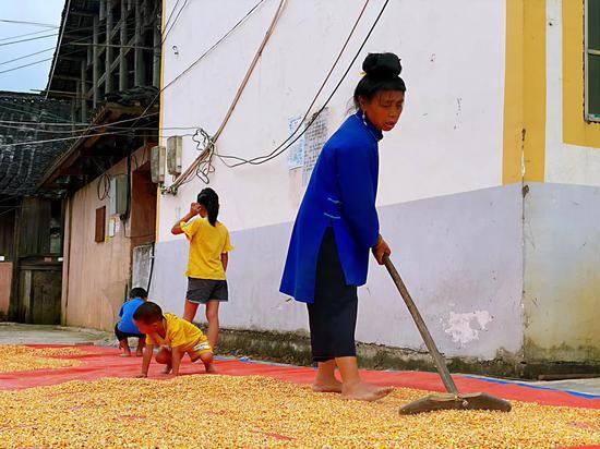 丹寨村民。 受访者供图。