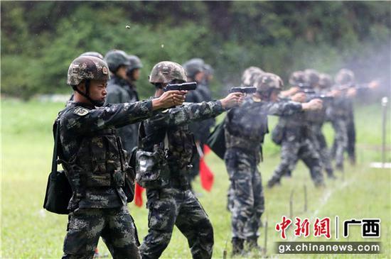 广西南宁指挥员大比武 锤炼谋战打战能力