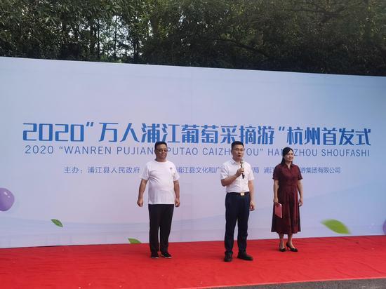 2020浦江葡萄采摘游正式启动 施杭 摄