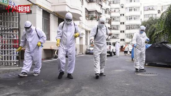 乌鲁木齐市开展全方位公共环境消杀