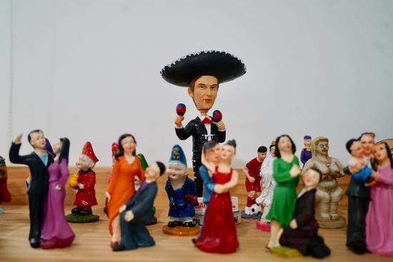 各式各样的玩具。 鄞州民政局供图