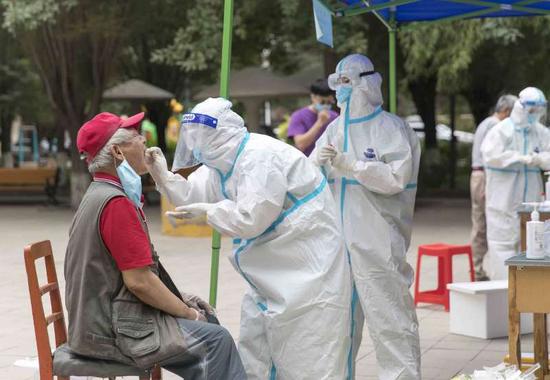 烏魯木齊市疾控中心:重復檢測是非常必要的