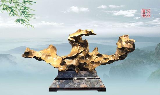 柳州市赏石协会成立来宾水冲石专委会