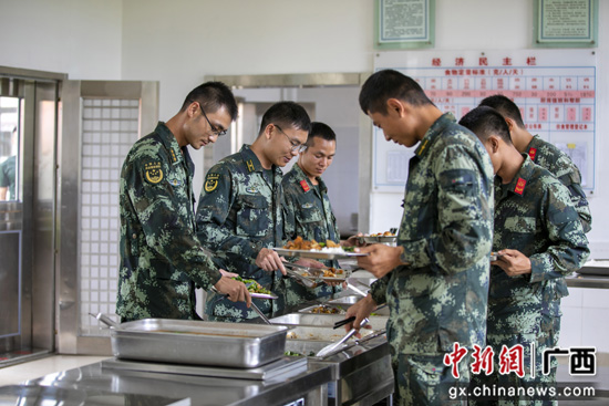 武警广西桂林支队让勤俭节约蔚然成风