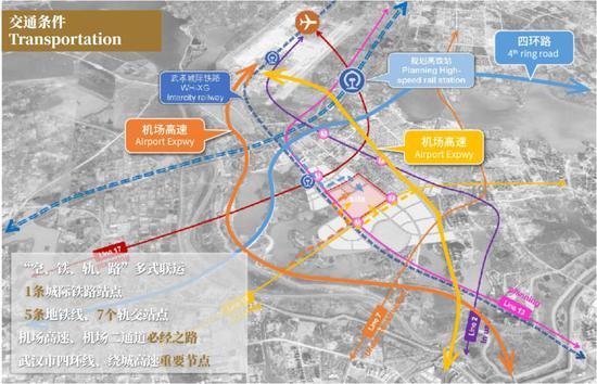项目交通规划图。绿地 供图