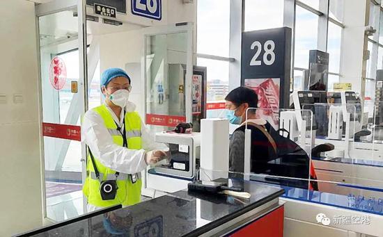 乌鲁木齐国际机场提示:防护用品如何带进入机场需准备?