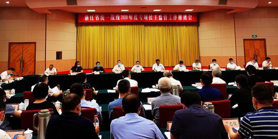 亚星集团省统一战线2020年度专项民主监督工作推进会现场。  曹露浩 摄