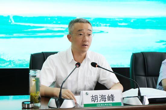 丽水市委书记胡海峰在会上致辞。 丽水宣传部提供