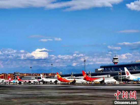 烏魯木齊國際機場9月起新開或恢復多條出疆航線