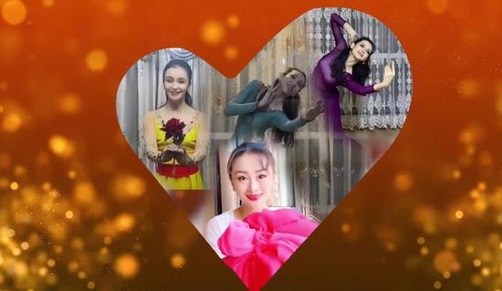 新疆艺术剧院一支舞蹈《平凡的英雄△》向志愿者们表达敬意