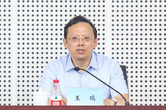 王瑞院长。浙江音乐学院党委宣传部 供图