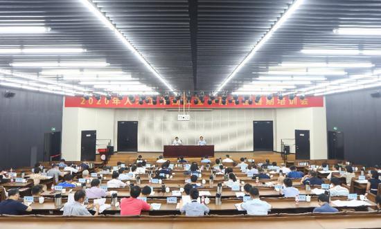 浙江音乐学院2020年人才工作会议暨中层干部暑期培训会现场。浙江音乐学院党委宣传部 供图
