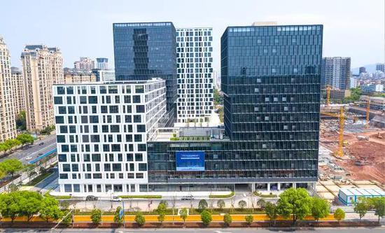 位于金华开发区的数字经济园区——金华之心(金华信息经济产业园)。  金华开发区供图