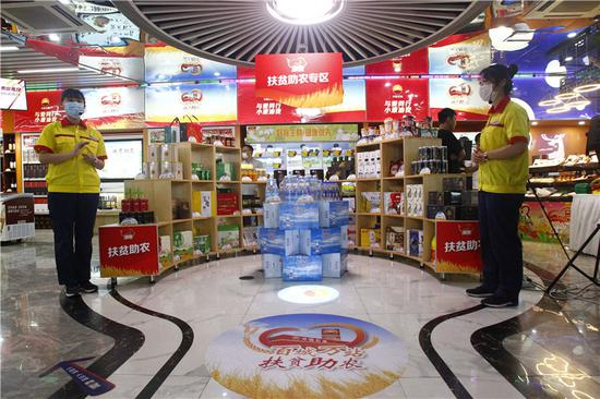 中国石油加油站全国百座城市1万余座加油站开设扶贫产品销售专区