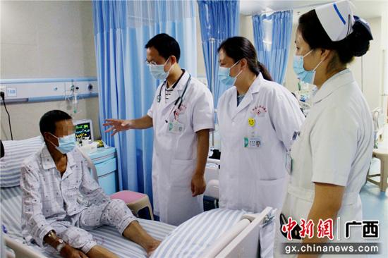 南溪山医院成功救治一名瓣膜性心脏病患者