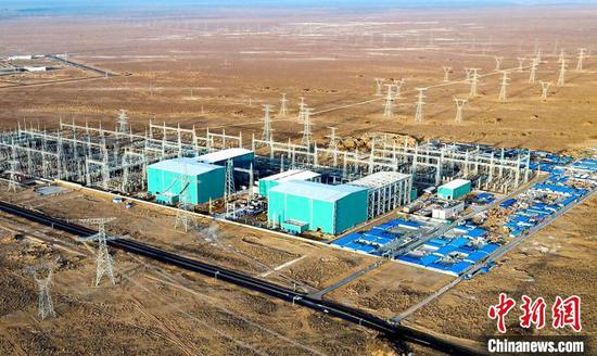 世界最高电压等级特高压直流投运1年输送电能逾500亿千瓦时