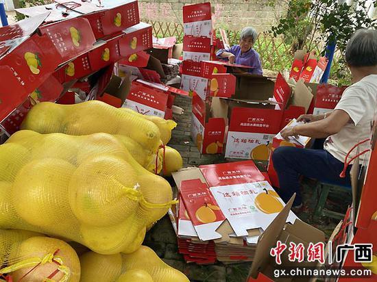 中建二局一公司到广西开展消费扶贫活动
