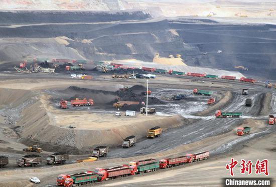 探访中国最大整装煤田露天煤矿