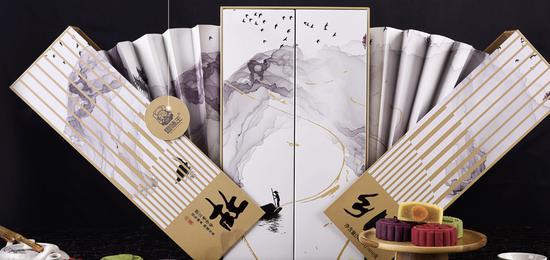 图为思味王产品设计中体现中国传统文化。企业 供图